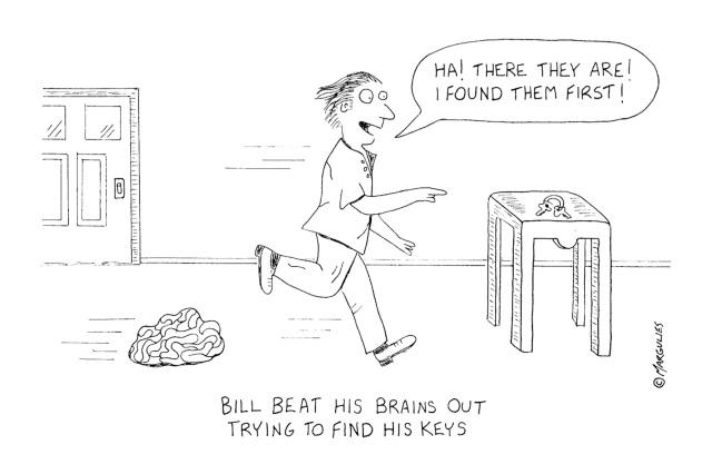 bill beat his brains