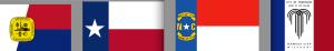 7 FlagsMemphis:TX:NC:KC