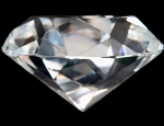 Close up of Perfect Diamond